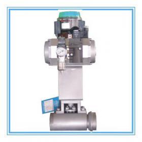 美标气动高压蒸汽疏水球阀焊接连接